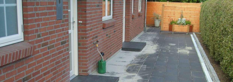Brolægning og flisearbejde - Ny terrasse, indkørsel, mm.